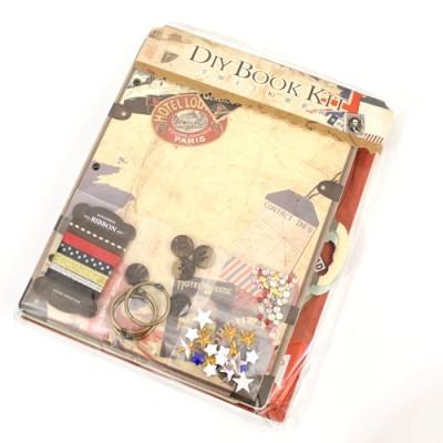 Набор для создания книжки 19х24 Путешествия #10544
