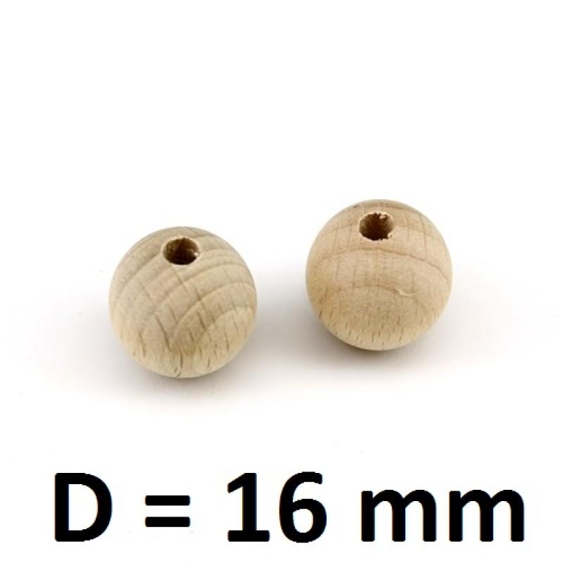 Бусины из можжевельника D=16, 1шт #1155