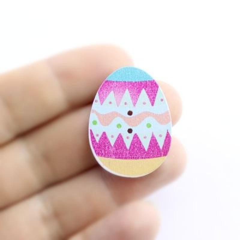 Пуговица Пасхальное Яйцо 30х23 #5379