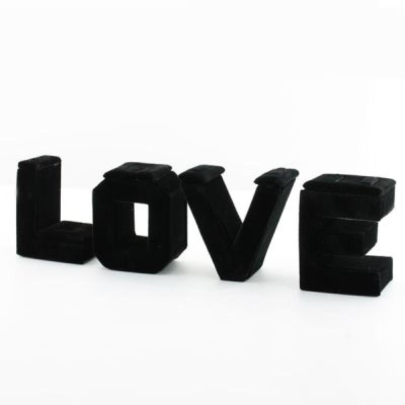 Дисплей для колец LOVE 22х7  #1143