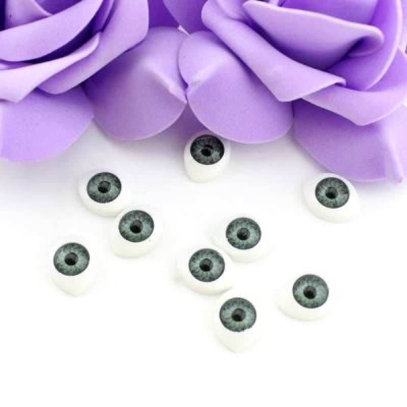 Глаза для кукол 14х11мм 2 шт #4764