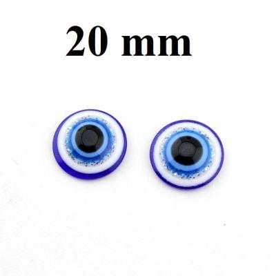 Глаза для кукол 20мм 1 шт #5440