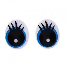 Глаза винтовые с заглушками 4 шт #10284
