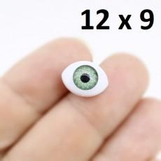 Глаза для кукол 12х9мм #2040