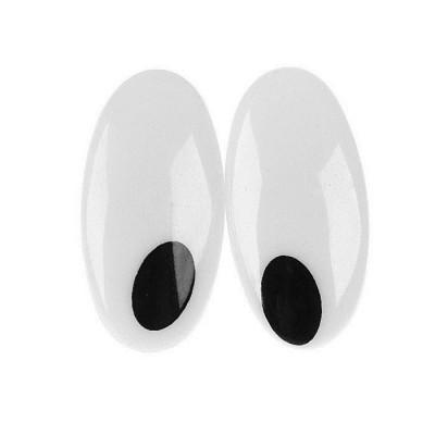 Глаза винтовые с заглушками 4шт #11164