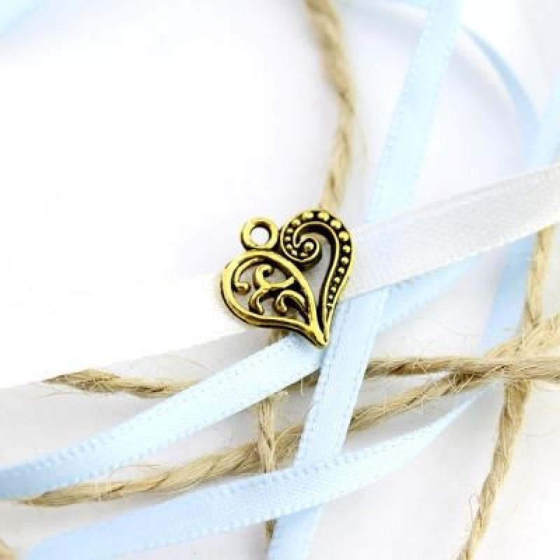 Подвеска Ажурное сердце #5121