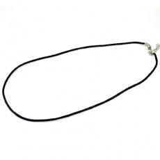 Основа для Ожерелья Кож.зам 43см D=2мм #3719