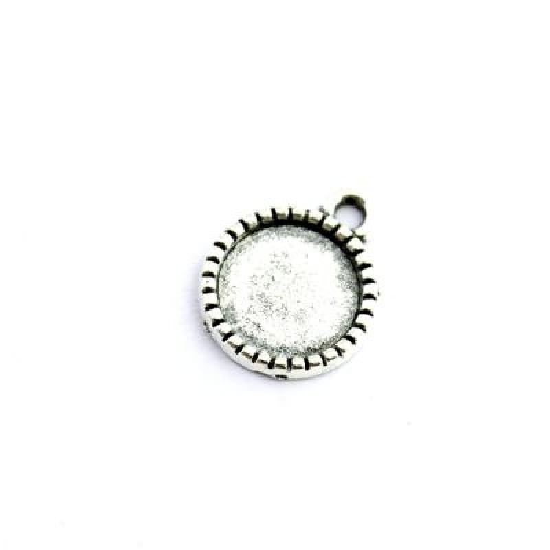 Основа для кулона D=10 Серебро #5464
