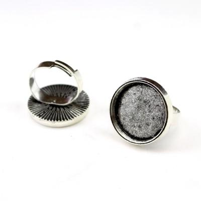Основа для колец D=20 Серебро #1717