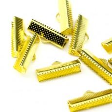 Зажимы для лент 20 мм Золотой #3728