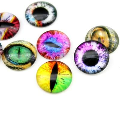 Кабошоны МИКС Глаза D=20 мм, 1 шт #5203