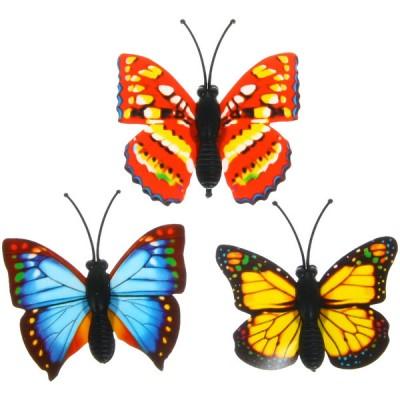 Бабочки декоративные 4см #5948
