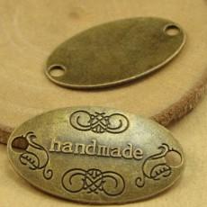 Декор HandMade 19х32мм Бронза #4926
