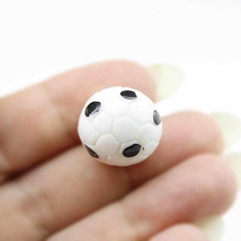 Футбольный мяч D=17мм #5473