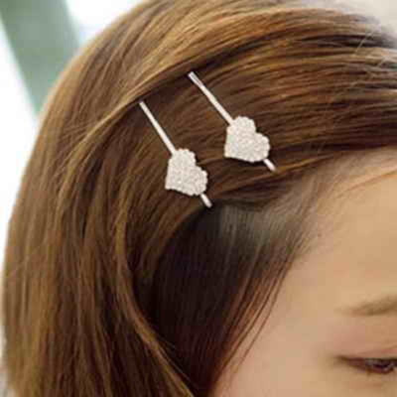 Зажим для волос со стразами #2689
