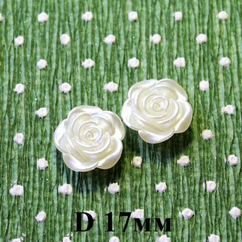 Роза D=17 Кремовая #5501