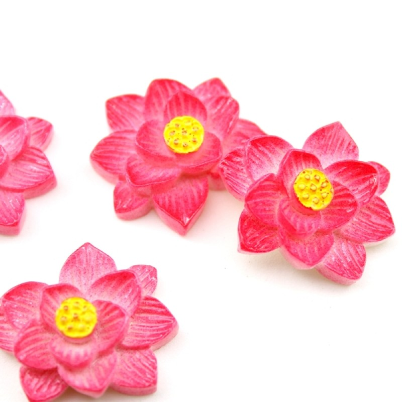 Кабошон Цветок D=28мм #5723