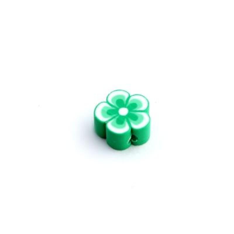 Бусины Цветы D=6-8 МИКС 1шт #5584