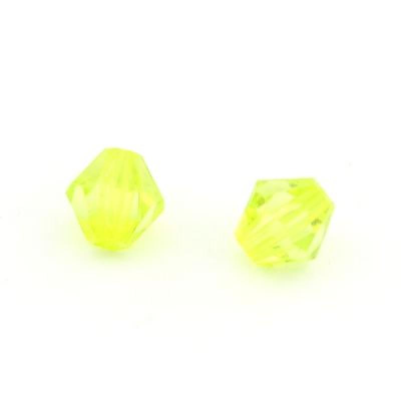 Бусины Ромб 10х10, 1шт Зелёные #4805