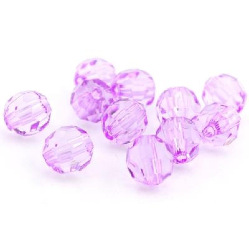 Бусины 11х12, 1шт Фиолетовые #4807