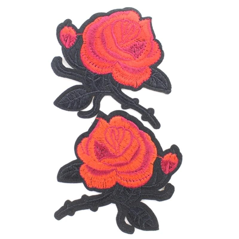 Термоапликация 2 цветка #10663