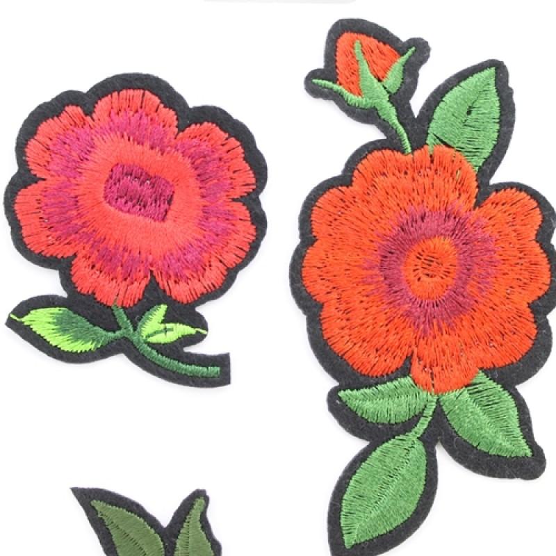 Термоапликации 3 цветка #10662