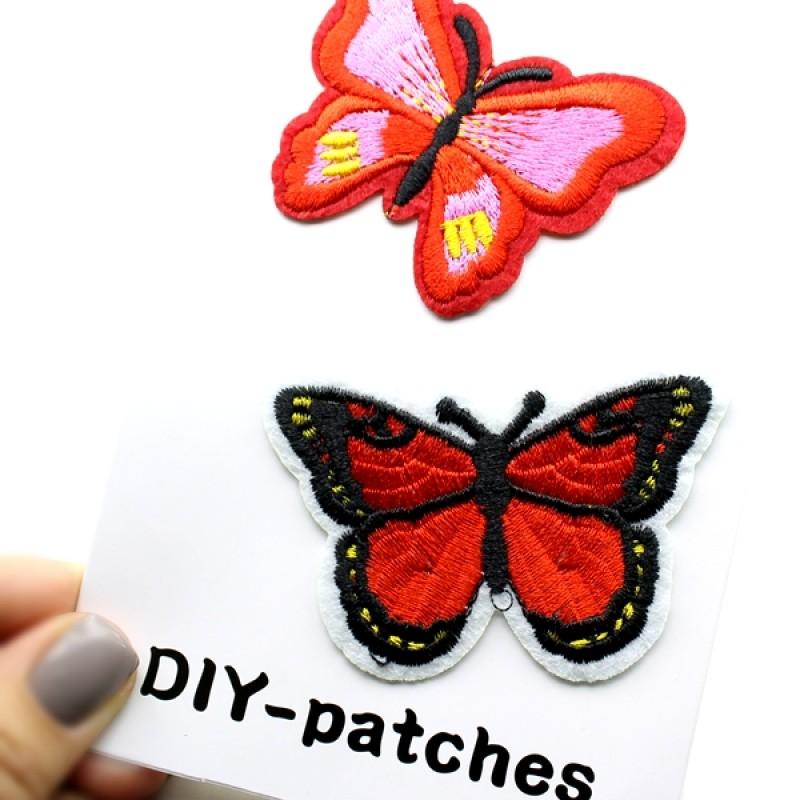 Термоапликация 3 бабочки №1 #11361