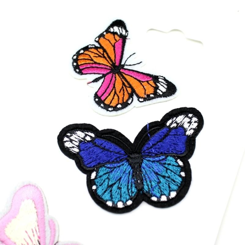 Термоапликация 3 бабочки №2 #11362