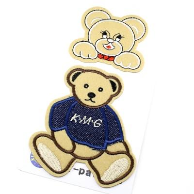 Термоапликация 2 медведя #11367