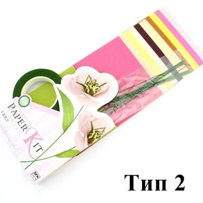 Набор для создания цветов Тип2 #10371