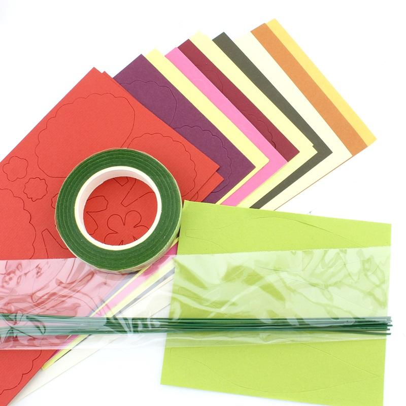 Набор для создания цветов Тип4 #10373