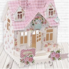 Набор для создания домика Flower house, 29х30 см #10396