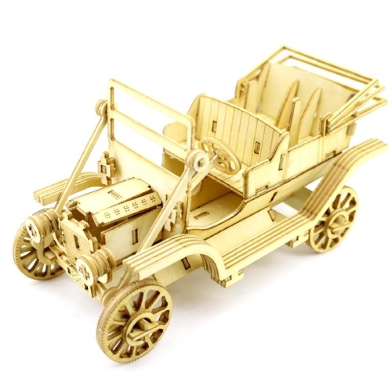 Набор из фанеры 3D-модель Машинка #10582