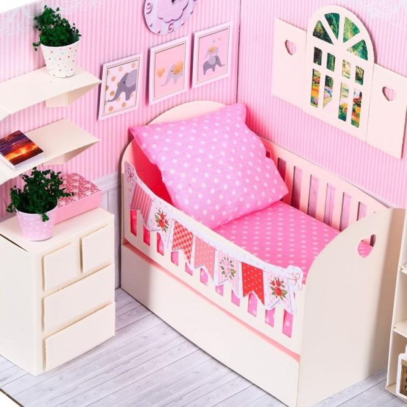 Кукольная миниатюра «Комната принцессы» #11235