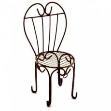 Мини стул с сердцевидной спинкой #10138