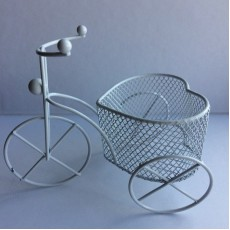 Велосипед декоративный (металл) 9см х 11см #10470