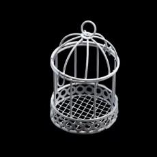 Клетка декоративная (металл) 7х5,5см #10472