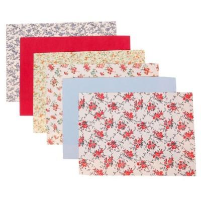 Набор самоклеящихся тканей «Праздник цветов» А4 #11472