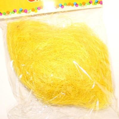Наполнитель Сизаль 35гр Желтый #10522