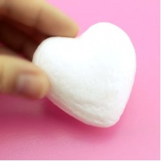 Сердце из пенопласта 80мм #4847