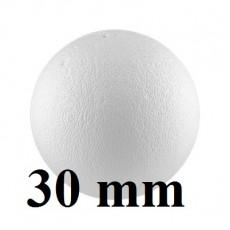 Шар из пенопласта D=30мм, 1шт #4844
