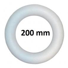Круг из пенопласта 200х30мм #10512