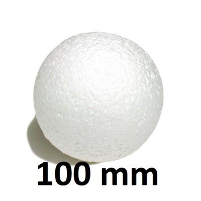 Шар из пенопласта 100мм, 1шт #1032