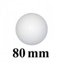 Шар из пенопласта 80мм #1197