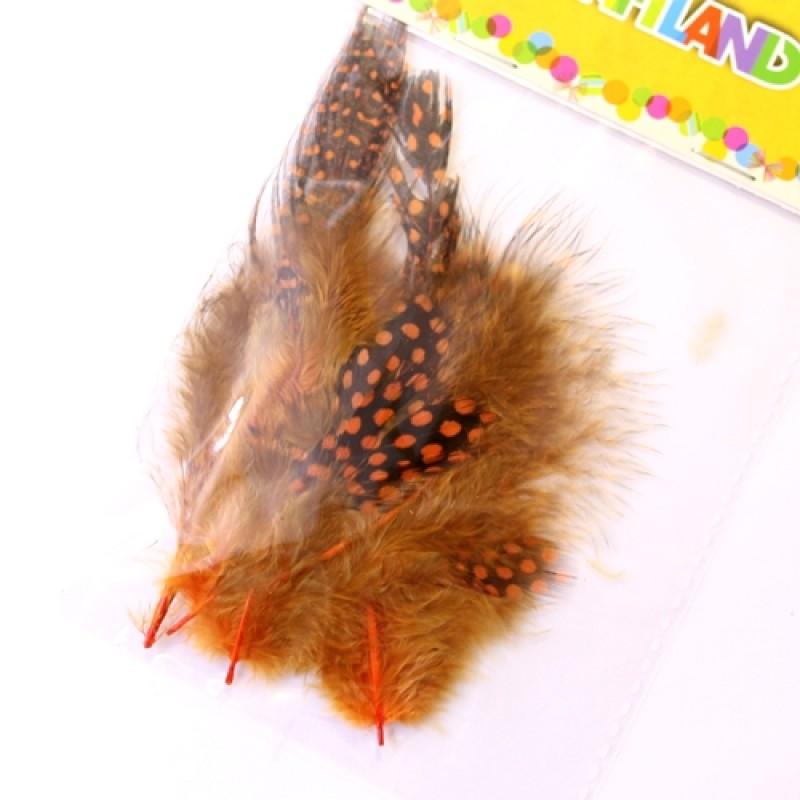 Набор декоротивных перьев #5109