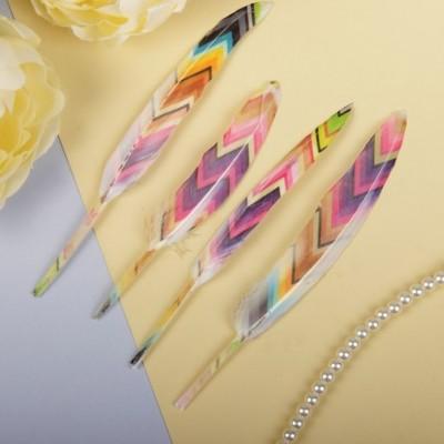 Набор перьев для декора, 4 шт #10953