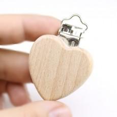 Зажим-держатель Сердце #10576