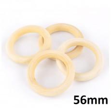 Деревянное кольцо 56х10 мм, 1шт #1160