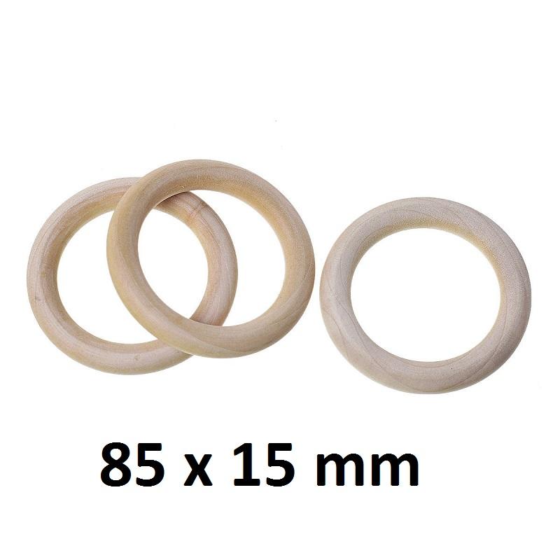 Деревянное кольцо 97х15 мм, 1шт #10566