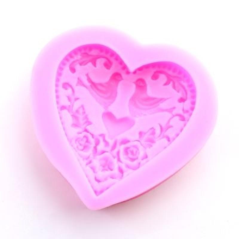 Молд Сказочное цердце #5091